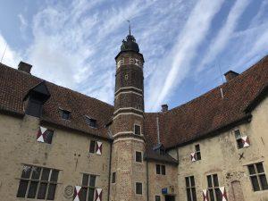 Feuerwehr- Flucht- und Rettungspläne für die Burg Vischering in Lüdinghausen
